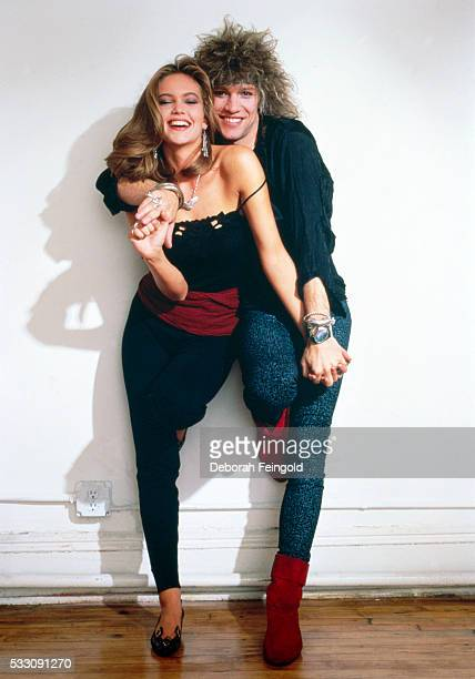 Actress Diane Lane and Singer Jon Bon Jovi