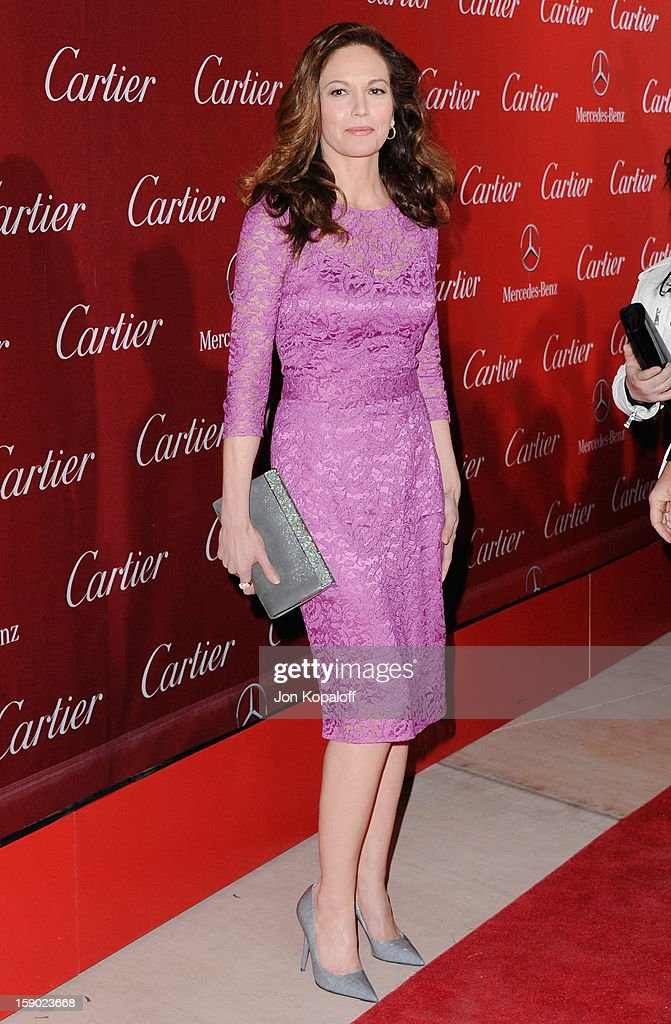 Actress Diane Lane arrives at the 24th Annual Palm Springs International Film Festival Awards Gala at Palm Springs Convention Center on January 5, 2013 in Palm Springs, California.