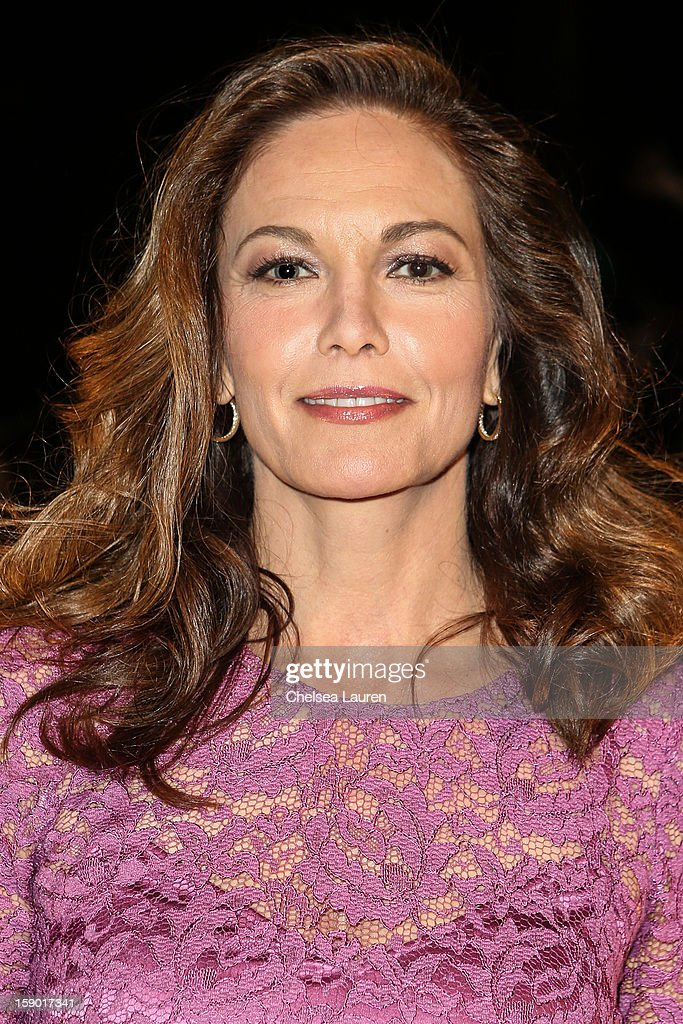 Actress Diane Lane arrives in style with Mercedes-Benz at the Palm Springs International Film Festival at the Palm Springs Convention Center on January 5, 2013 in Palm Springs, California.
