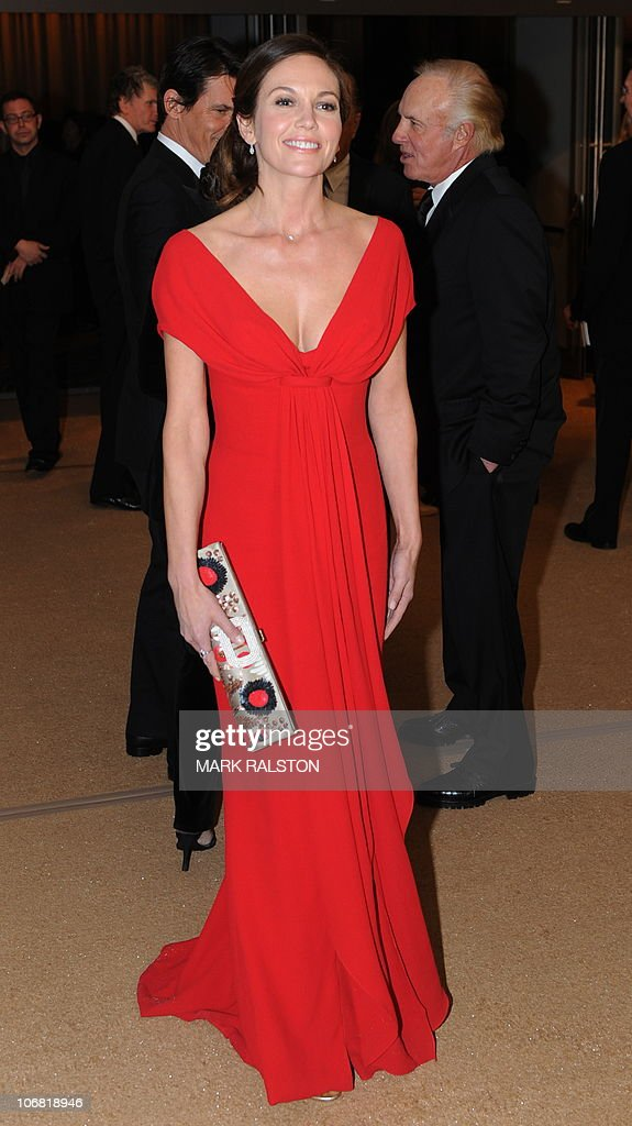 Actress Diane Lane arrives on the red carpet for the 2010 Oscars Governors Awards at the Hollywood and Highland Center in Hollywood on November 13, 2010. AFP PHOTO/Mark RALSTON