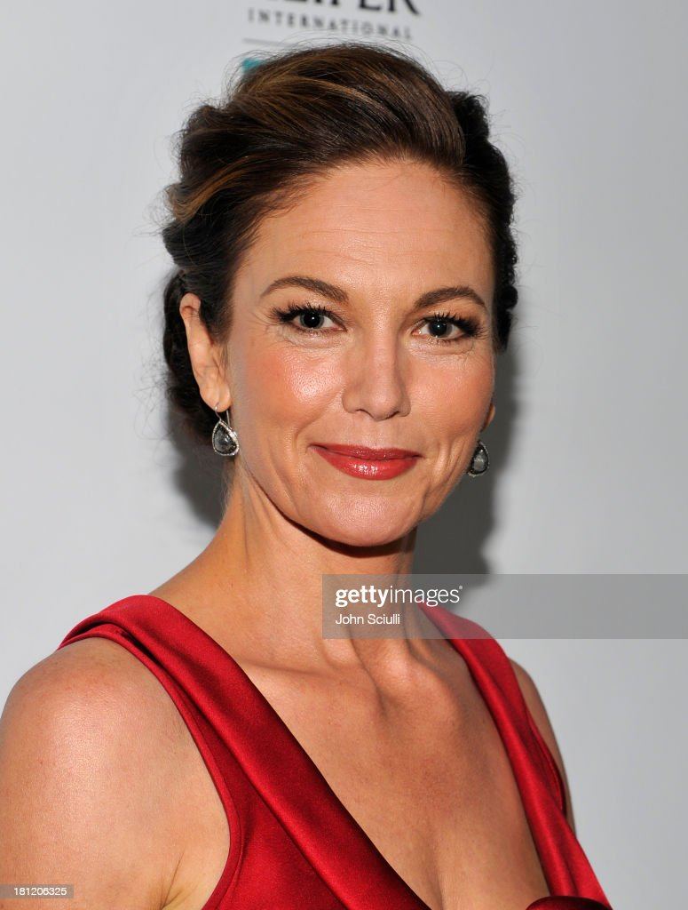 Actress Diane Lane attends Heifer International's 2nd Annual 'Beyond Hunger: A Place at the Table' to Help End World Hunger and Poverty at Montage Hotel on September 19, 2013 in Los Angeles, California.