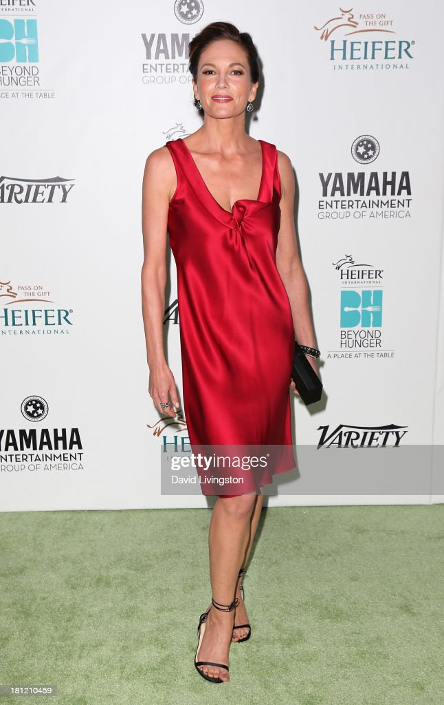 Actress <a gi-track='captionPersonalityLinkClicked' href=/galleries/search?phrase=Diane+Lane&family=editorial&specificpeople=206364 ng-click='$event.stopPropagation()'>Diane Lane</a> attends Heifer International's 'Beyond Hunger: A Place at the Table' gala at Montage Beverly Hills on September 19, 2013 in Beverly Hills, California.
