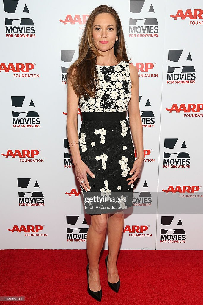 Actress <a gi-track='captionPersonalityLinkClicked' href=/galleries/search?phrase=Diane+Lane&family=editorial&specificpeople=206364 ng-click='$event.stopPropagation()'>Diane Lane</a> attends the 13th Annual AARP's Movies For Grownups Awards Gala at Regent Beverly Wilshire Hotel on February 10, 2014 in Beverly Hills, California.