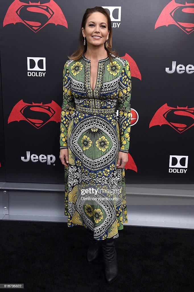 Actress <a gi-track='captionPersonalityLinkClicked' href=/galleries/search?phrase=Diane+Lane&family=editorial&specificpeople=206364 ng-click='$event.stopPropagation()'>Diane Lane</a> attends the 'Batman V Superman: Dawn Of Justice' New York Premiere at Radio City Music Hall on March 20, 2016 in New York City.