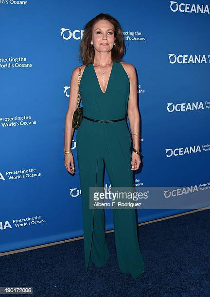Actress Diane Lane attends the 'Concert For Our Oceans' hosted by Seth MacFarlane benefitting Oceana at The Wallis Annenberg Center for the...