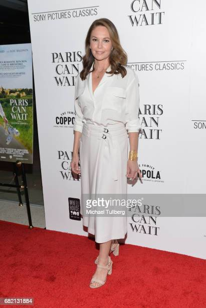 Actress Diane Lane attends the Los Angeles premiere of Sony Pictures Classics' 'Paris Can Wait' at Pacific Design Center on May 11 2017 in West...