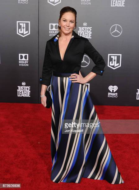 Actress Diane Lane attends the Los Angeles Premiere of Warner Bros Pictures' 'Justice League' at Dolby Theatre on November 13 2017 in Hollywood...