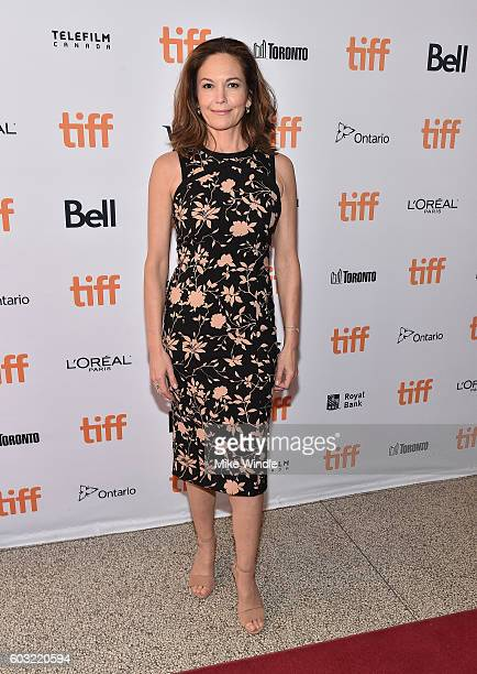 Actress Diane Lane attends the 'Paris Can Wait' premiere during the 2016 Toronto International Film Festival at Winter Garden Theatre on September 12...