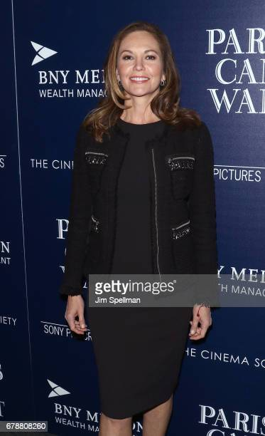 Actress Diane Lane attends the Sony Pictures Classics' 'Paris Can Wait' screening hosted by The Cinema Society BNY Mellon at Landmark Sunshine Cinema...