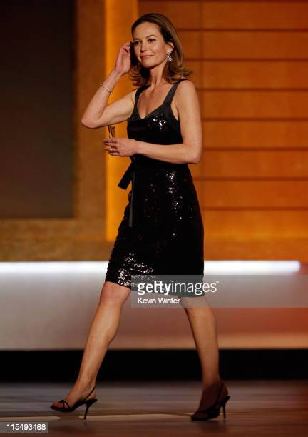 Actress Diane Lane onstage during VH1's 14th Annual Critics' Choice Awards held at the Santa Monica Civic Auditorium on January 8 2009 in Santa...