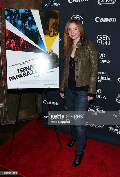 Actress Diane Neal attends the Gen Art Film Festival screening of 'Teenage Paparazzo' after party at Amnesia NYC on April 10 2010 in New York City