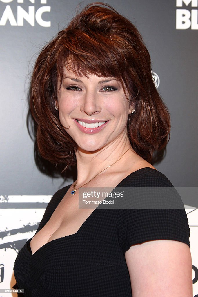 Actress Diane Neal attends the Montblanc Presents: The 24 Hour Plays 2013 LA cast announcement and kick-off party held at Montblanc Rodeo Drive Boutique on May 8, 2013 in Beverly Hills, California.