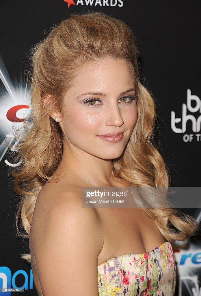 Actress Dianna Agron arrives at the Breakthrough Of The Year Awards Presented By Crest 3D White at the Pacific Design Center on August 15, 2010 in West Hollywood, California.