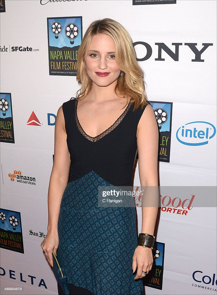 Actress Dianna Agron arrives at the Napa Valley Film Festival Celebrity Tribute on November 15, 2013 in Napa, California.