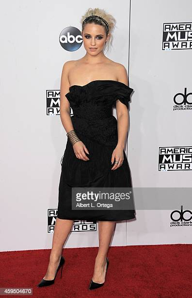 Actress Dianna Agron arrives for the 42nd Annual American Music Awards held at Nokia Theatre LA Live on November 23 2014 in Los Angeles California