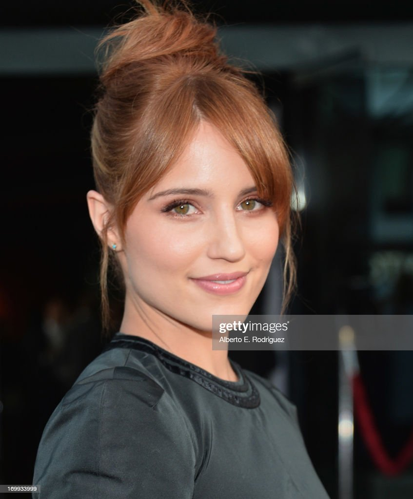 Actress Dianna Agron arrives to the Los Angeles premiere of A24's 'The Bling Ring' at the Directors Guild Theater on June 4 2013 in Los Angeles...