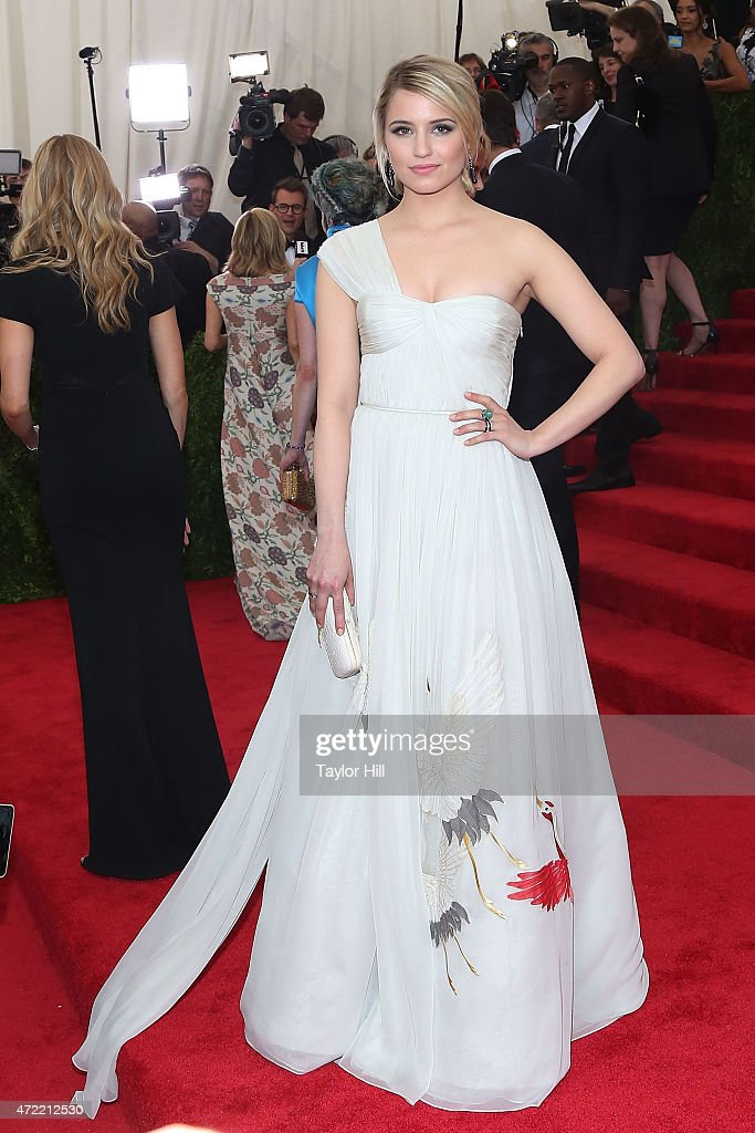 Actress Dianna Agron attends 'China Through the Looking Glass' the 2015 Costume Institute Gala at Metropolitan Museum of Art on May 4 2015 in New...