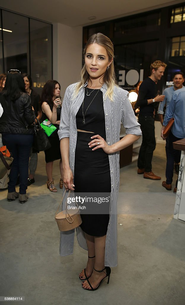 Actress Dianna Agron attends Conde Nast Traveler Celebrates 'Shorties' With Moet Chandon Imperial Minis at Cadillac House on June 8 2016 in New York...