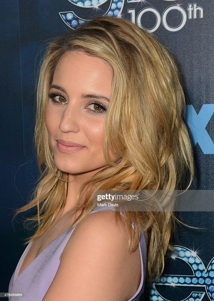 Actress Dianna Agron attends Fox's 'GLEE' 100th Episode Celebration held at Chateau Marmont on March 18, 2014 in Los Angeles, California.