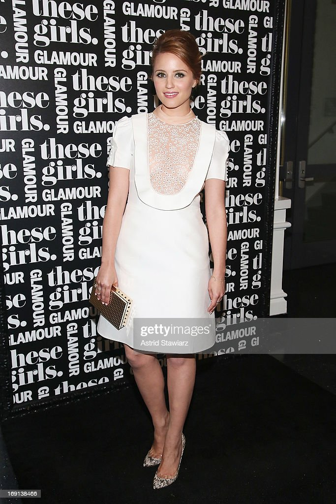 Actress Dianna Agron attends Glamour's presentation of 'These Girls' at Joe's Pub on May 20, 2013 in New York City.