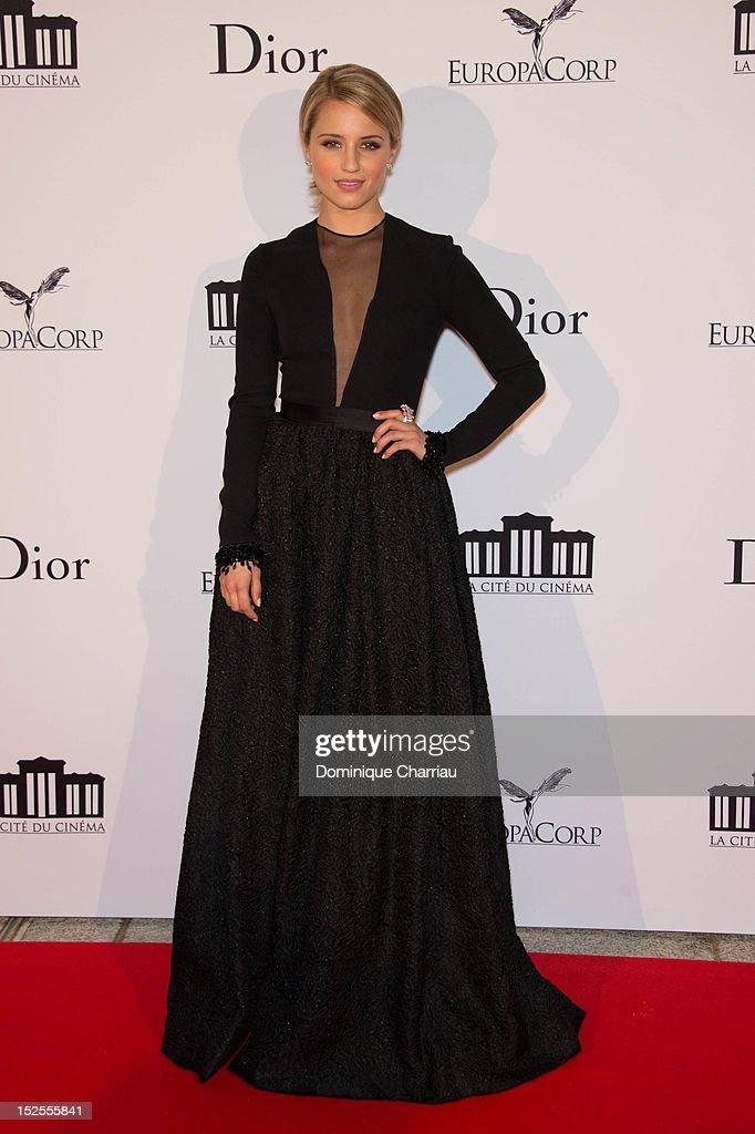 Actress Dianna Agron attends 'La Cite Du Cinema' Launch on September 21, 2012 in Saint-Denis, France.