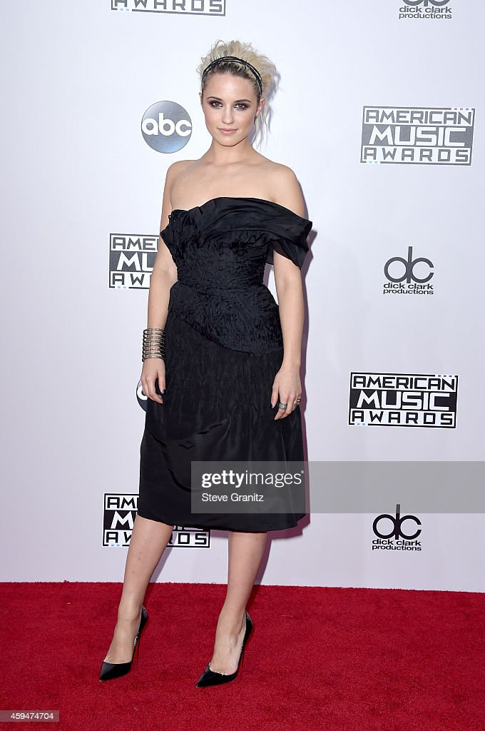 Actress Dianna Agron attends the 2014 American Music Awards at Nokia Theatre LA Live on November 23 2014 in Los Angeles California
