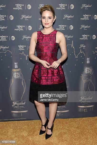 Actress Dianna Agron attends the 2015 Tribeca Film Festival After Party for 'Tumbledown' sponsored by Freixenet Spanish Cava at 121 Fulton Street on...