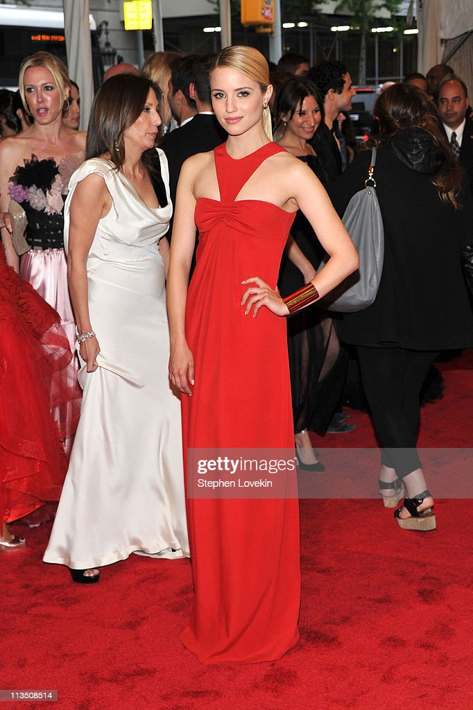 Actress Dianna Agron attends the 'Alexander McQueen: Savage Beauty' Costume Institute Gala at The Metropolitan Museum of Art on May 2, 2011 in New York City.