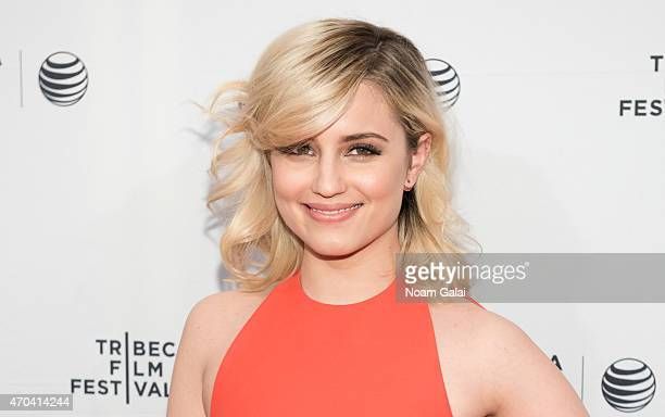 Actress Dianna Agron attends the 'Bare' premiere during the 2015 Tribeca Film Festival at SVA Theatre 2 on April 19 2015 in New York City