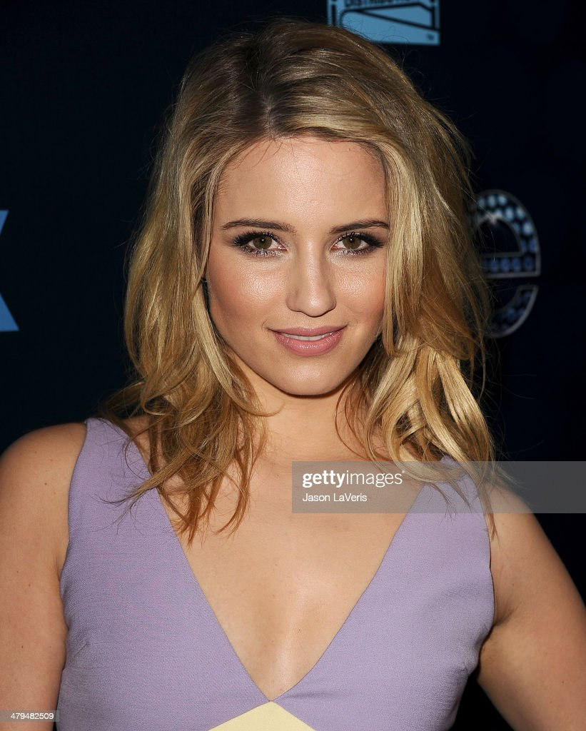 Actress <a gi-track='captionPersonalityLinkClicked' href=/galleries/search?phrase=Dianna+Agron&family=editorial&specificpeople=4439685 ng-click='$event.stopPropagation()'>Dianna Agron</a> attends the 'Glee' 100th episode celebration at Chateau Marmont on March 18, 2014 in Los Angeles, California.