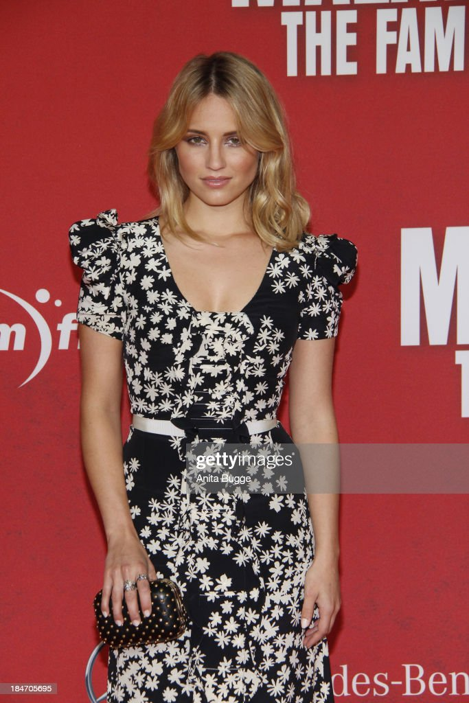 Actress Dianna Agron attends the 'Malavita The Family' Germany premiere at Kino in der Kulturbrauerei on October 15 2013 in Berlin Germany