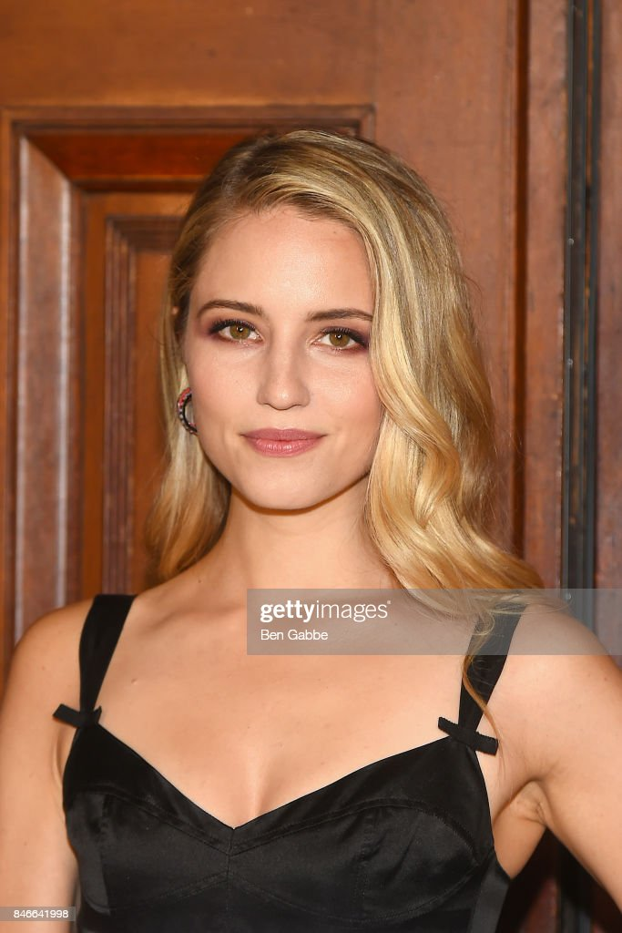 Actress Dianna Agron attends the Marc Jacobs Fashion Show during New York Fashion Week at Park Avenue Armory on September 13, 2017 in New York City.