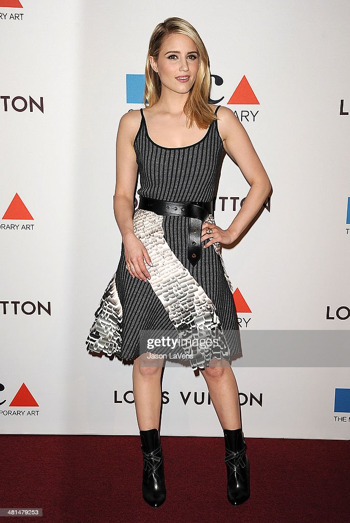 Actress Dianna Agron attends the MOCA 35th anniversary gala celebration at The Geffen Contemporary at MOCA on March 29, 2014 in Los Angeles, California.