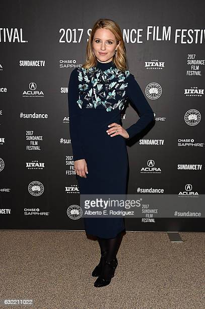 Actress Dianna Agron attends the 'Novitate' premiere during day 2 of the 2017 Sundance Film Festival at Eccles Center Theatre on January 20 2017 in...