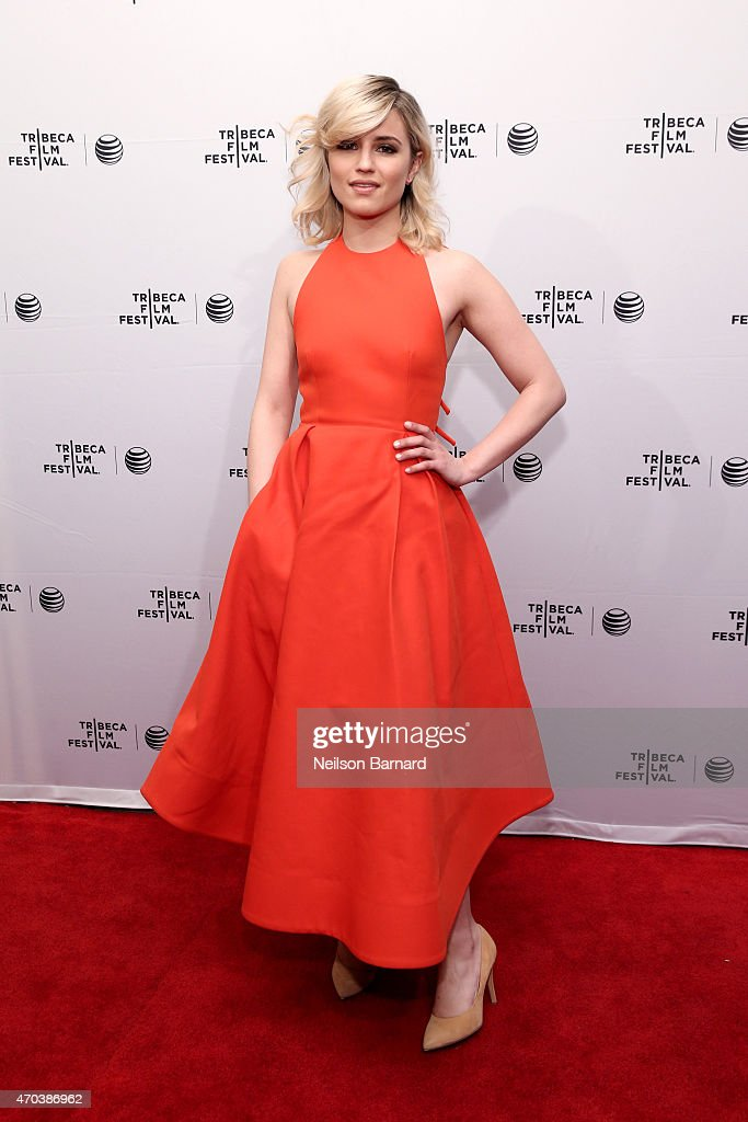 Actress Dianna Agron attends the premiere of 'Bare' during the 2015 Tribeca Film Festival at the SVA Theater on April 19 2015 in New York City