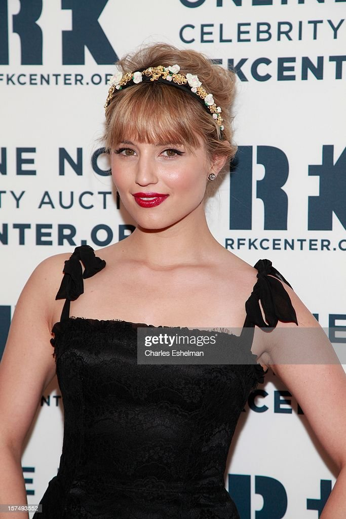 Actress Dianna Agron attends the Robert F. Kennedy Center for Justice and Human Rights 2012 Ripple of Hope gala at The New York Marriott Marquis on December 3, 2012 in New York City.