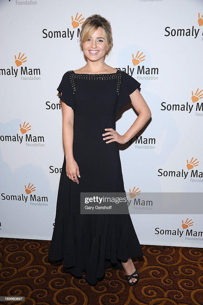 Actress <a gi-track='captionPersonalityLinkClicked' href=/galleries/search?phrase=Dianna+Agron&family=editorial&specificpeople=4439685 ng-click='$event.stopPropagation()'>Dianna Agron</a> attends the Somaly Mam Foundation Gala at Gotham Hall on October 23, 2013 in New York City.