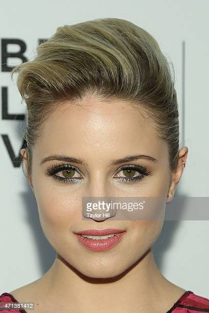 Actress Dianna Agron attends the world premiere of 'Tumbledown' during the 2015 Tribeca Film Festival at BMCC Tribeca PAC on April 18 2015 in New...