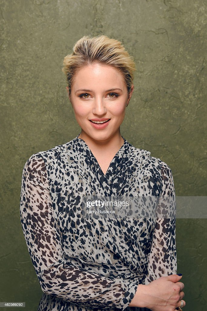 Actress Dianna Agron of 'Zipper' poses for a portrait at the Village at the Lift Presented by McDonald's McCafe during the 2015 Sundance Film...
