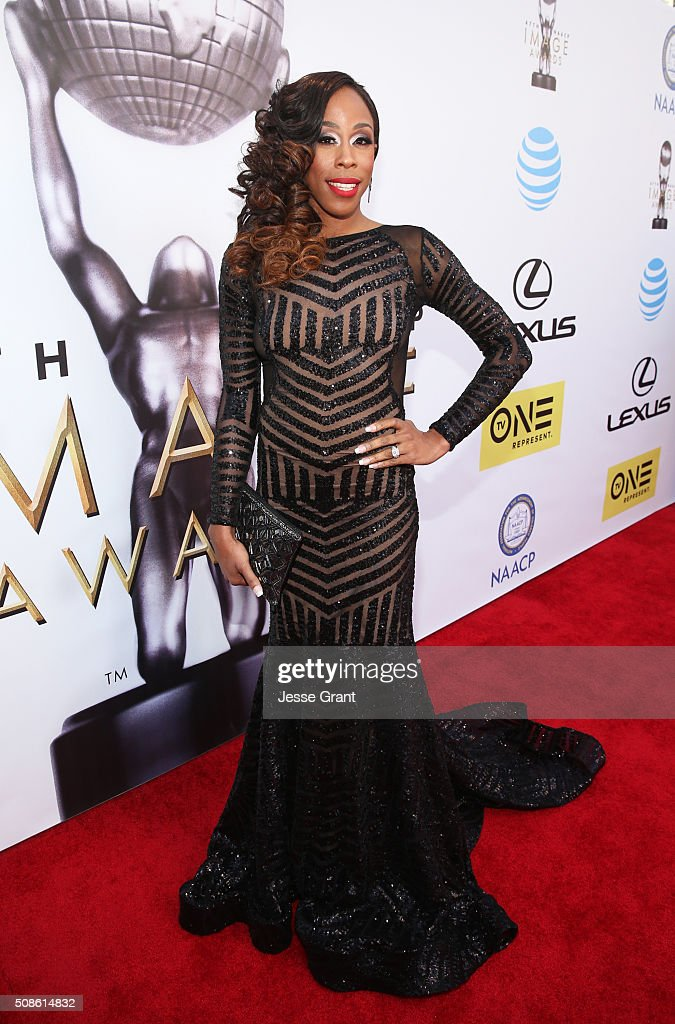 Actress Dianna Williams attends the 47th NAACP Image Awards presented by TV One at Pasadena Civic Auditorium on February 5, 2016 in Pasadena, California.