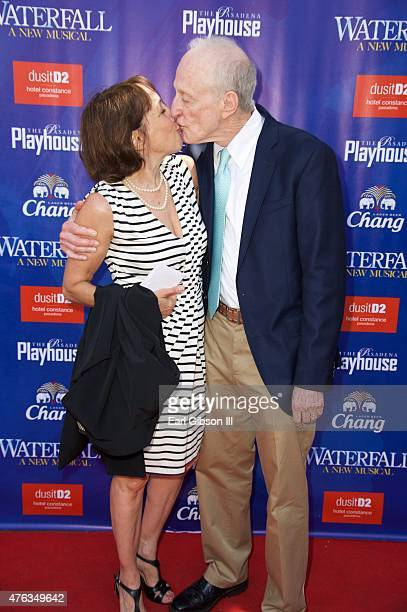 Actress Didi Conn and Composer David Shire attend The Pasadena Playhouse Presents 'Waterfall' Opening Night Performance at Pasadena Playhouse on June...