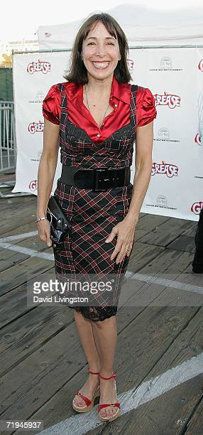 Actress Didi Conn attends the celebration of the DVD release of 'Grease Rockin' Rydell Edition' at the Santa Monica Pier on September 19 2006 in...
