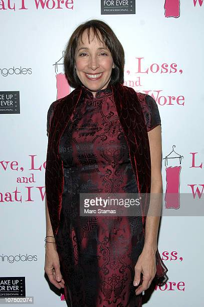 Actress Didi Conn attends the 'Love Loss And What I Wore' after party at B Smith's Restaurant on December 9 2010 in New York City