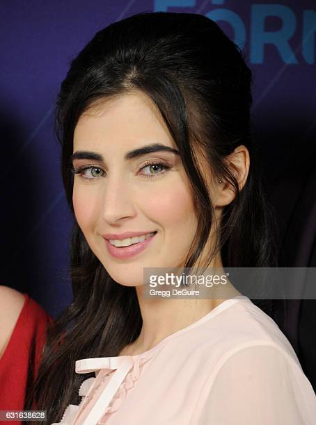Actress Dilan Gwyn arrives at the 2017 Winter TCA Tour Disney/ABC at the Langham Hotel on January 10 2017 in Pasadena California