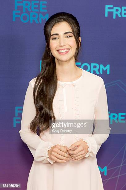 Actress Dilan Gwyn arrives for the 2017 Winter TCA Tour for Disney/ABC at The Langham Hotel on January 10 2017 in Pasadena California