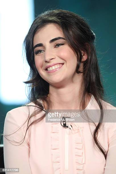 Actress Dilan Gwyn of the television show 'Beyond' speaks onstage during the DisneyABC portion of the 2017 Winter Television Critics Association...