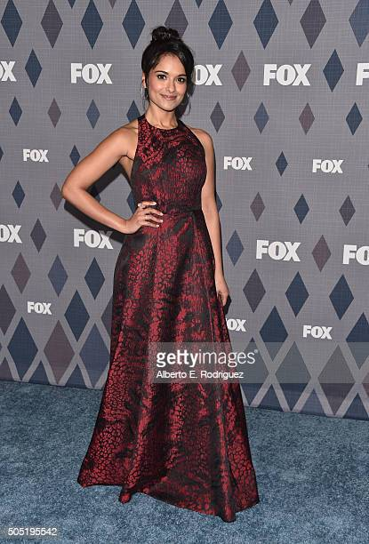 Actress Dilshad Vadsaria attends the FOX Winter TCA 2016 AllStar Party at The Langham Huntington Hotel and Spa on January 15 2016 in Pasadena...