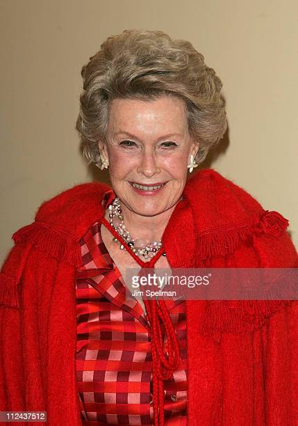 Actress Dina Merrill arrives at the 4th Annual Stella by Starlight Gala Benefit Honoring Martin Sheen at Chipriani 23rd st on March 17 2008 in New...