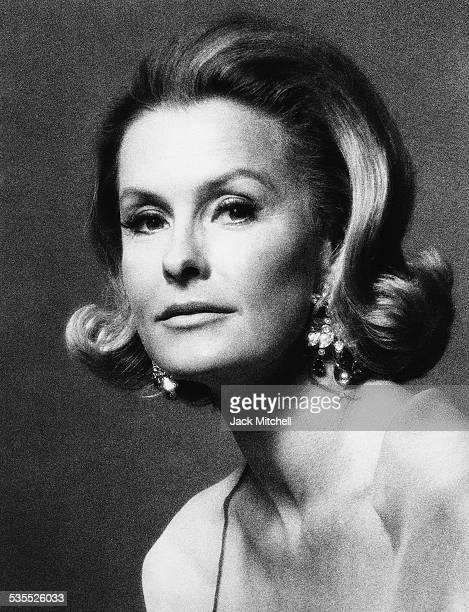 Actress Dina Merrill photographed in 1970