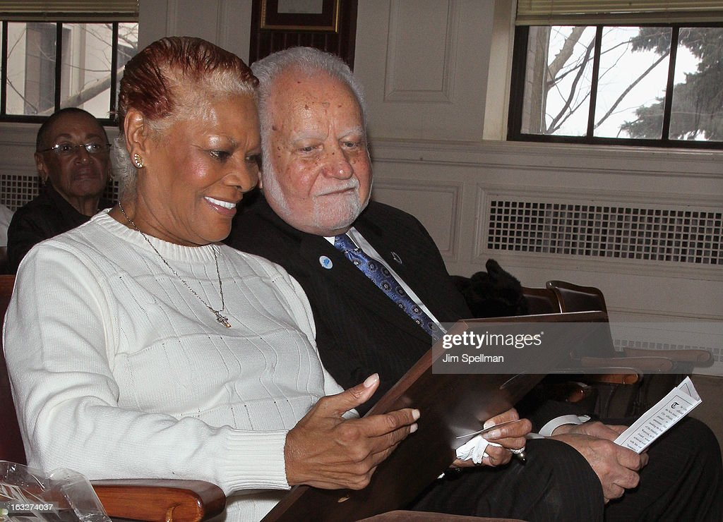 Actress <a gi-track='captionPersonalityLinkClicked' href=/galleries/search?phrase=Dionne+Warwick&family=editorial&specificpeople=213111 ng-click='$event.stopPropagation()'>Dionne Warwick</a> and Mayor of the City of East Orange NJ Robert L. Bowser attend the 150th Anniversary of East Orange, New Jersey at Council Chambers on March 6, 2013 in East Orange, New Jersey.